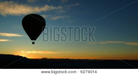 Balloon At Sunrise