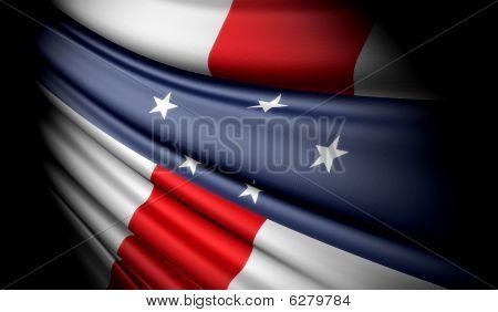 Flag Of Netherlands Antilles