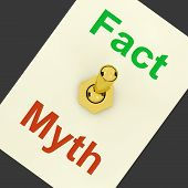 Fact Myth Lever Shows Correct Honest Answers