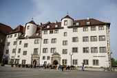 STUTTGART, GERMANY - APRIL 01, 2014: Historical Renaissance Building - Historical architecture of th