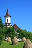 stock photo of suceava  - Beautiful details of a Christian church in Gura Humorului - JPG