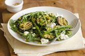 Courgette And Asparagus Salad