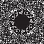 foto of kaleidoscope  - Lace background - JPG