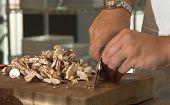 Chopping The Mushrooms