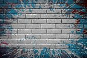 pic of stonewalled  - grunge brick wall - JPG