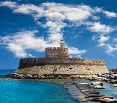 Fort Saint Nicolas Rhodes, Greece