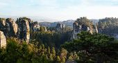 picture of bohemian  - Sandstone formations in Bohemian Paradise, Czech Republic