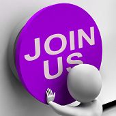 picture of joining  - Join Us Button Meaning Register Volunteer Or Sign Up - JPG