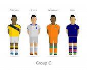 stock photo of ivory  - Soccer  - JPG