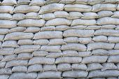 pic of sandbag  - sandbags Trenches of Death in Dixmude flanders Belgium great world war 1 - JPG