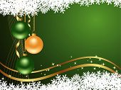 picture of christmas ornament  - Background with snowflakes - JPG