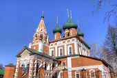 picture of archangel  - View of Archangel Michael church - JPG