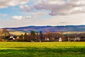 stock photo of west village  - Small village near Balloch in Scotland West Dunbartonshire - JPG