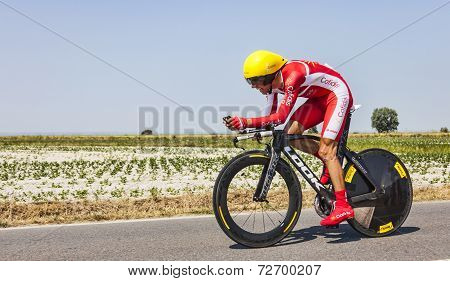 The Cyclist Daniel Navarro Garcia