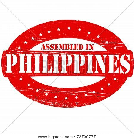 Assembled In Philippines