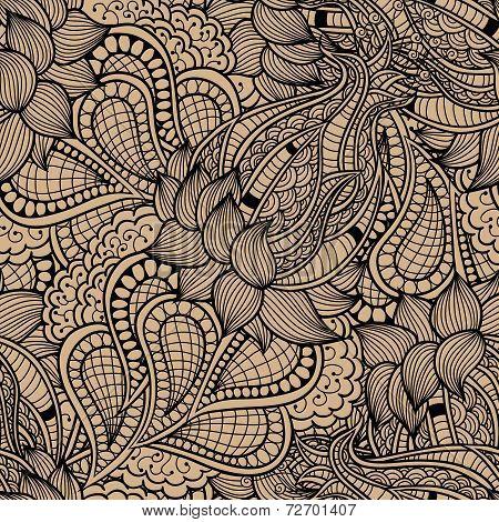 Abstract decorative vintage vivid wave pattern