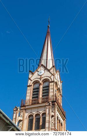Brown Steeple Under Blue Sky