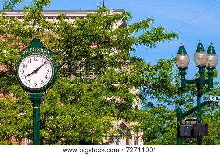 Petoskey Clock
