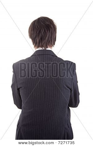 Businessman  In Back