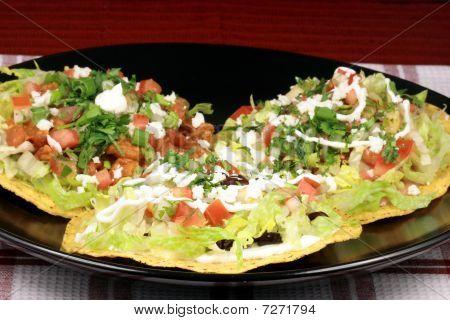Mexican Crunchy Tostadas