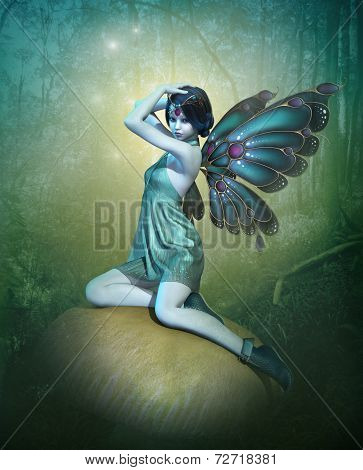 Blue Fairy, 3D Cg