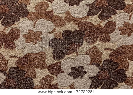 Texture of fur bedspreads