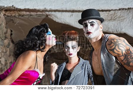 Jealous Cirque Clown