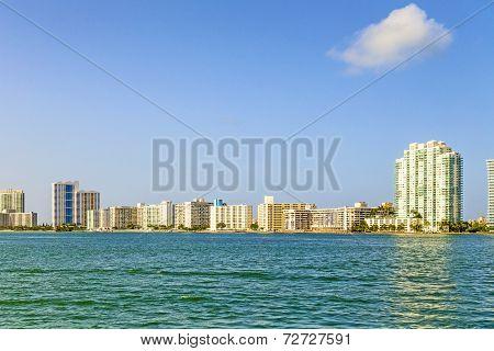 Miami Skyline At Daytime