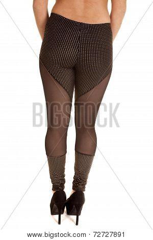 Back Sheer Leggings