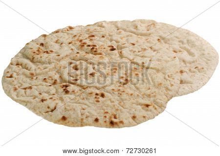 Chapattis On White