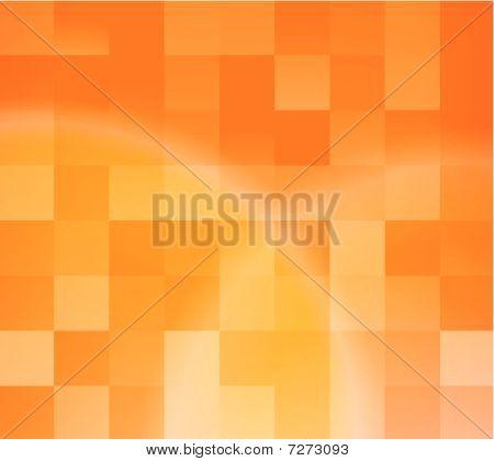 Plantilla de tarjeta naranja Resumen