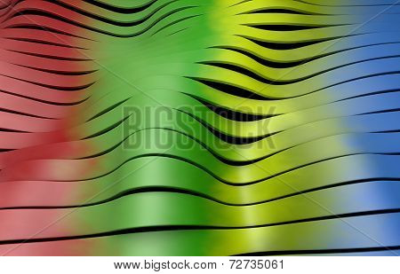 colorful multicolor plastic stripes background