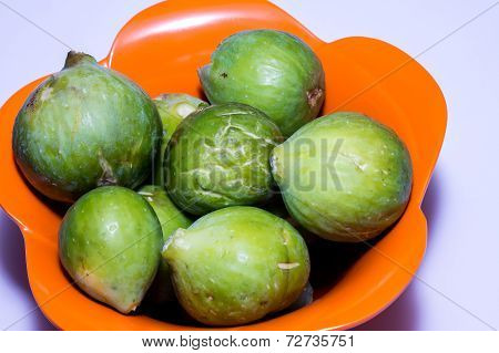 Fresh Fig Fruit In A Bowl