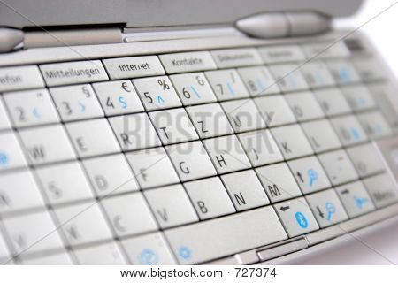 mobile phone keypad