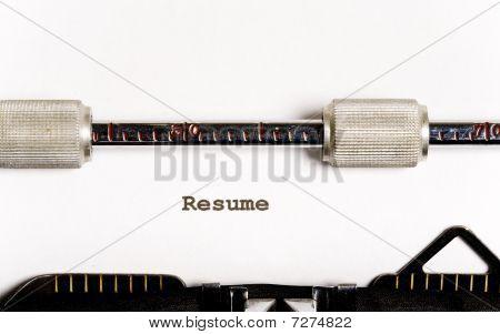 Typewriter text