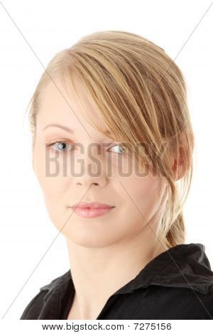 Casual Young Caucasian Women