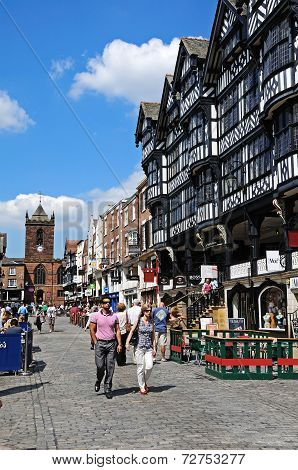 Bridge Street shops, Chester.