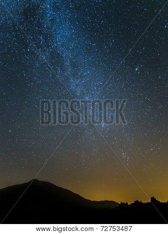 Mount Teide Milky Way
