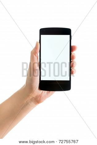 Blank Google Nexus 5 In Hand