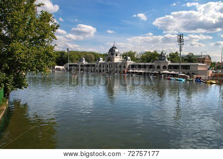 Budapest - June 27: City Park (varosliget) Is A Public Park In Budapest, Hungary Close To The City C