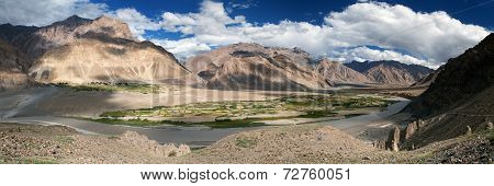 View From Zanskar Valley