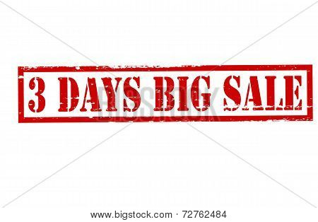 Three Days Big Sale