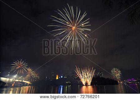 Riverfire Festival in Brisbane - 2014