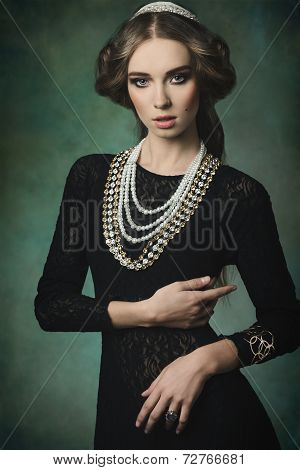 Elegant Antique Princess