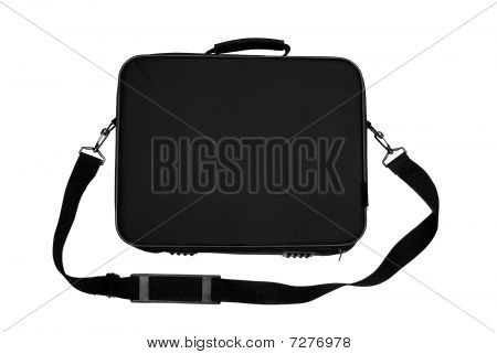 Black Nylon Laptop Carrying Case