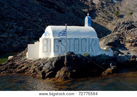 Orthodox Church in Santorini Island.
