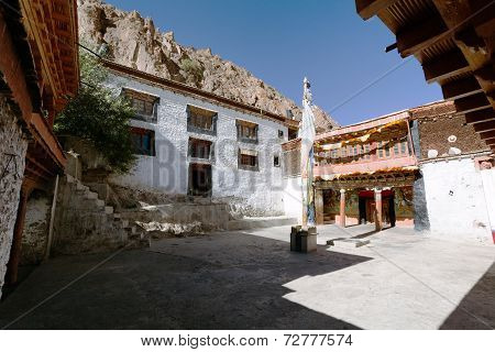 Karsha Gompa - Buddhist Monastery In Zanskar Valley