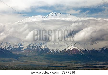 View Of Lenin Peak From Alay Range