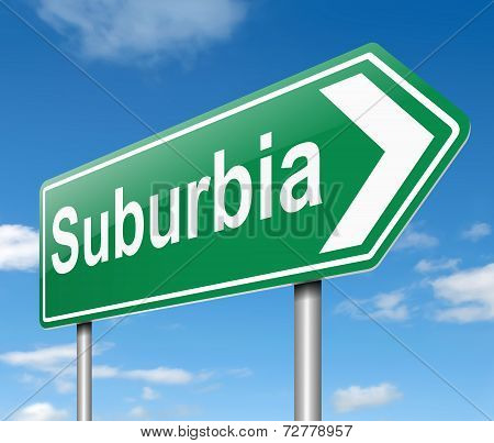 Suburbia Concept.
