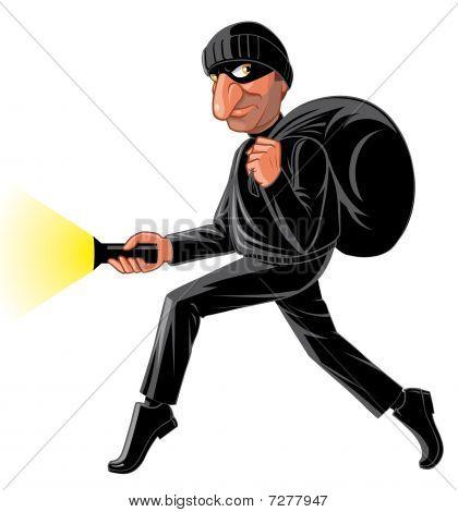 Stealthy thief